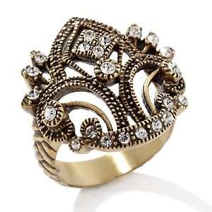 Heidi Daus Regal Romance Crystal Accented Ring