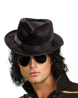 1980s / Michael Jackson Fedora Hat