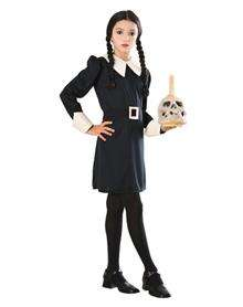 Addams Family Wednesday Addams Girls Costume $24.99