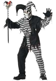 Costumes Scary Costumes Scary Adult Costumes Adult Dark Jester Costume