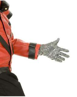 Adult Michael Jackson Sequin Glove  TV and Movie Halloween Costumes