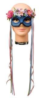 Adult Hippie Flower Child Mask   Hippie Costume Accessories