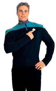 Star Trek Uniform Shirt Costume (Teal)   Adult Star Trek Uniform