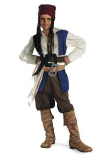 Pirates of the Caribbean Captain Jack Sparrow Classic Child Costume