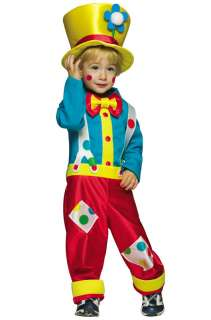 Clown Boy Toddler Costume for Halloween   Pure Costumes