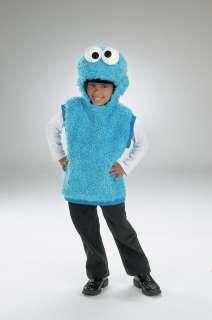 Child Cookie Monster Vest Costume   Sesame Street Costumes   15DG5635