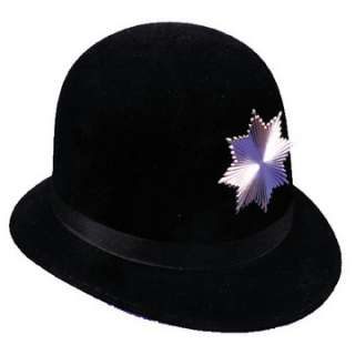 Adult Keystone Cop Hat   Historical Police Officer Hats   15GA28