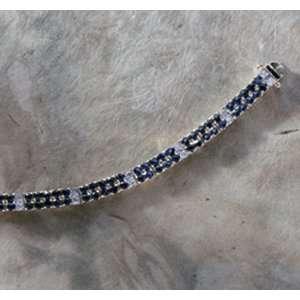 18kt Gold over Sterling Silver Tennis Bracelet Everything