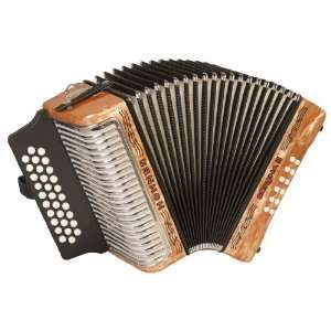 Hohner Accordions 3500FO 43 Key Accordion: Musical