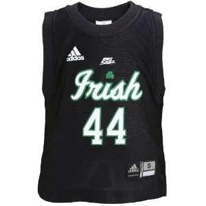adidas Notre Dame Fighting Irish #44 Black Toddler Replica Basketball