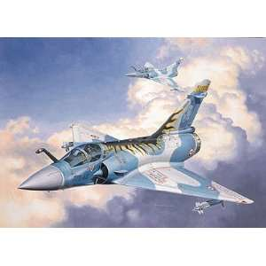 Mirage 2000C Tiger Meet Single Seat Combat Aircraft Kit Toys & Games