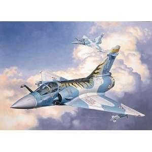 Mirage 2000C Tiger Meet Single Seat Combat Aircraft Kit Toys & Games