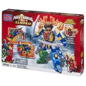 Mega Bloks Power Rangers Samurai Claw Armor Megazord Toys & Games