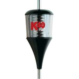 Plus Series Black/Clear 6000 Watt Trucker Antenna with Chrome Coil