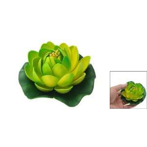 Como Fish Aquarium Tank Foam Lotus Plant Flower Decoration