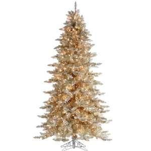 Fir Artificial Christmas Tree Clear Lit