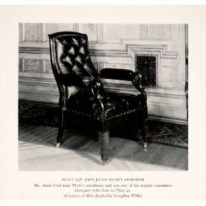 Furniture Maker America Craftsman Artisan   Original Halftone Print