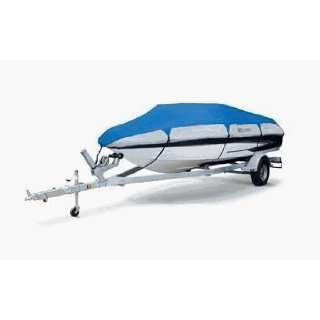 Orion Deluxe Boat Cover Model D in Blue / Grey