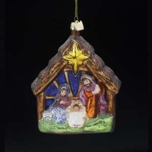 Religious Holy Family Nativity Christmas Ornaments 4