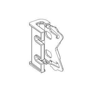 Graber 2 1/2 Inch Wide Dauphine Curtain Rod Brackets, 1