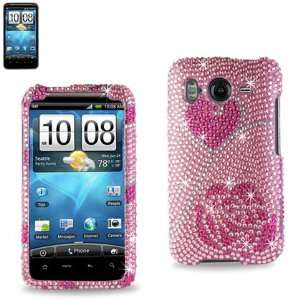 Diamond Hard Case for HTC Inspire 4G (22) Cell Phones