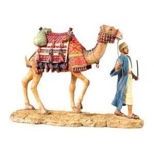 Bedouin W/ Camel   Collectible Figurine Statue Sculpture