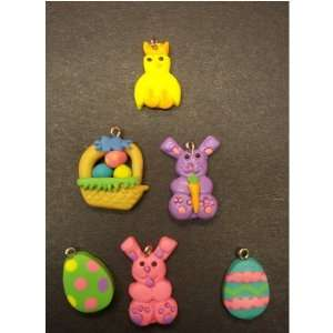 Happy Easter Fimo Charms: Everything Else