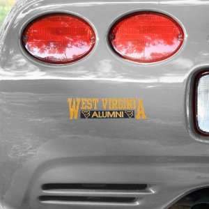 NCAA West Virginia Mountaineers Alumni Car Decal  Sports
