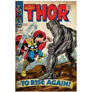 Marvel Comics Retro The Mighty Thor Comic Book Cover #151