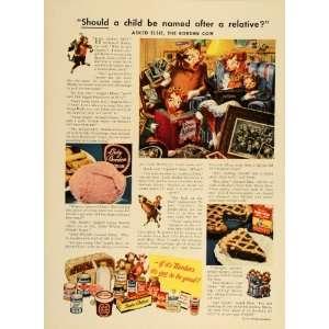 1947 Ad Borden Dairy Milk Cheese Ice Cream Elsie Cow