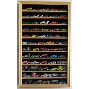 Hobby Die Cast Vehicles Hot Wheels Display Case Cabinet Shadow Box