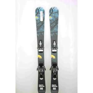New ECO Black Blue Forrest Kids Shape Snow Ski Tyrolia SL