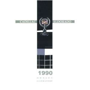 1990 CADILLAC ELDORADO Owners Manual User Guide