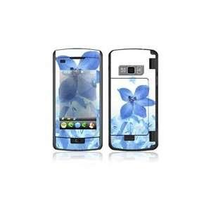 LG enV Touch VX11000 Skin Decal Sticker   Blue Neon Flower