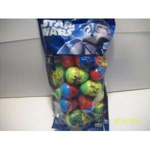 Star Wars Plastic Easter Eggs Filled with Candy [Toy] Everything Else