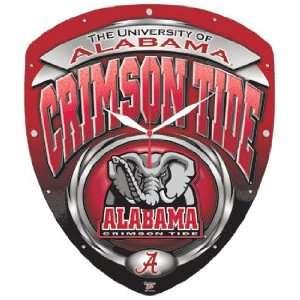 NCAA Alabama Crimson Tide High Definition Clock Sports