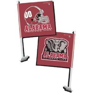 Alabama Crimson Tide NCAA Car Flag (11.75x14.5