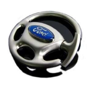 Cool2day QUALITY Ford Focus logo Steering Wheel METAL KEY