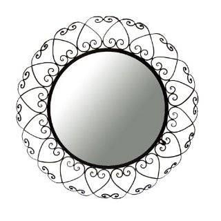 Decorative Miniature Black Wire Frame Wall Mirrors