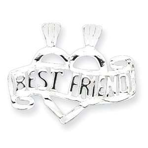 Silver Best Friend Break Apart Charm West Coast Jewelry Jewelry