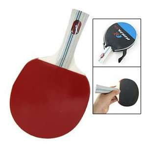 Face Wooden Handle Ping Pong Table Tennis Bat