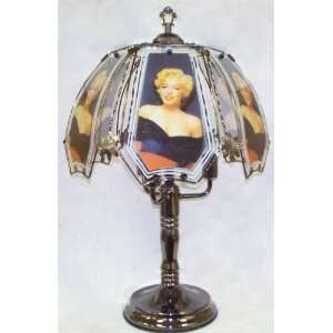 Marilyn Monroe Black Chrome Touch Lamp Toys & Games