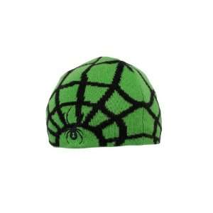 Spyder Mini Web Hat (Classic Green/Black) One Size (Ages 2