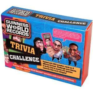Guinness World Records Trivia Challenge Toys & Games