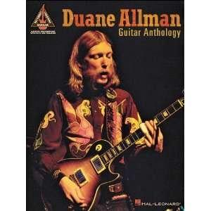 Leonard Duane Allman Guitar Anthology Tab Book Musical Instruments