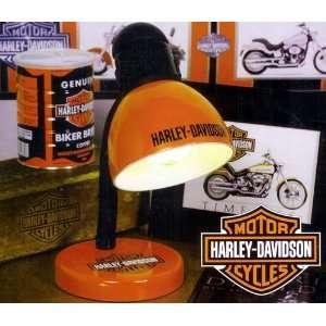 14 Harley Davidson Orange Desk Lamp #HD HDO 503