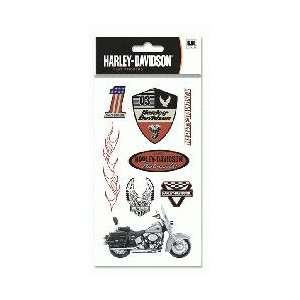 Harley Davidson Motorcycle Americana Stickers Arts