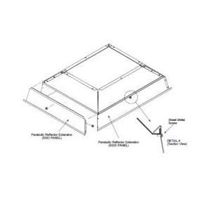 Extension   For 30,000 To 40,000 Btu Ceramic Heaters