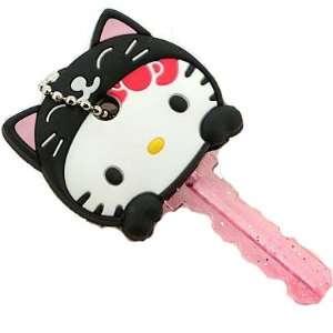 Hello Kitty Animal Key Cap   Hello Kitty As Black Cat