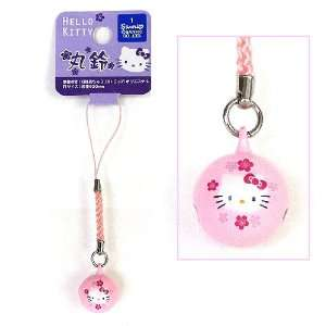 Sanrio Hello Kitty Pink Bell Cell Phone Charm  Toys & Games